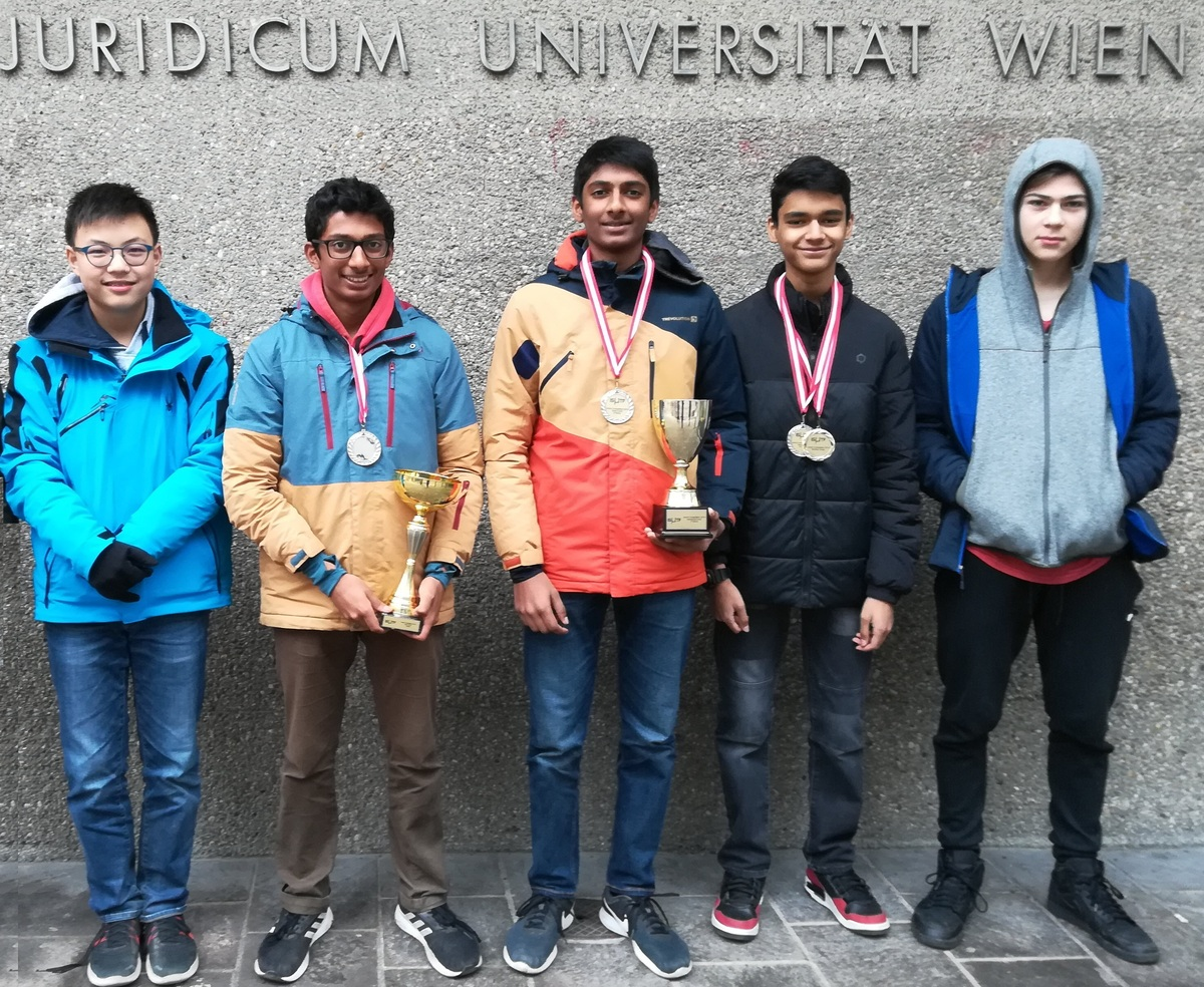 ISB Students win at the ISMTF Maths Competition