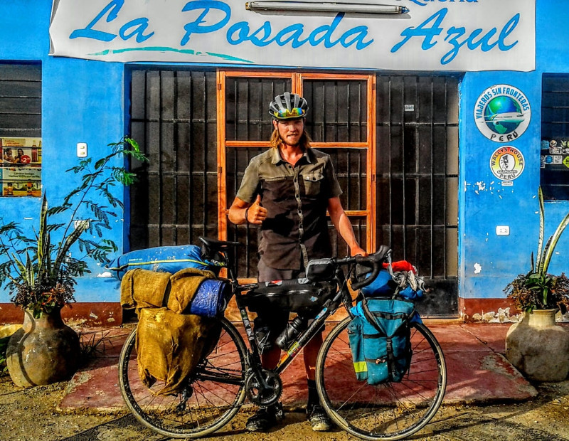 Sean Henry, Alum Cycling from Canada to Chile - Part 2